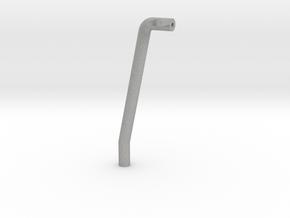 "Tamiya Blazing Blazer Rear Left Roll Bar ""Bar Syst in Aluminum"
