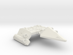 3788 Scale Neo-Tholian Survey Cruiser SRZ in White Natural Versatile Plastic