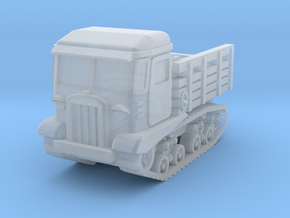 STZ-5 tractor 1/144 in Smooth Fine Detail Plastic
