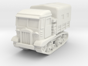 STZ 5 tractor (covered) scale 1/87 in White Natural Versatile Plastic