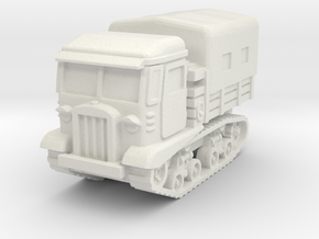 STZ 5 tractor (covered) scale 1/100 in White Natural Versatile Plastic