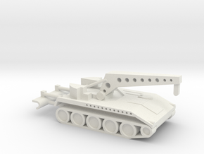 1/144 Scale T119 25 Ton Recovery in White Natural Versatile Plastic