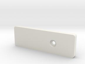 NNP - Phone Case Enclosure - Top in White Natural Versatile Plastic