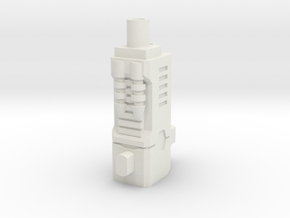 TF CW Streetwise Slim Car Cannon Adapter in White Natural Versatile Plastic