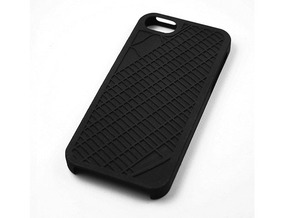 Upper East Side NYC Map iPhone 5/5s Case in Black Strong & Flexible