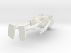 Bot_3D_hollow in White Natural Versatile Plastic