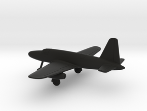Dornier P.256/1-01 in Black Natural Versatile Plastic: 1:200