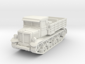 Voroshilovets tractor scale 1/87 in White Natural Versatile Plastic