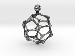 DODECAHEDRON in Antique Silver
