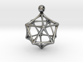 ICOSAHEDRON in Antique Silver