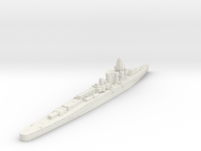 Furutuka Class heavy Cruiser  in White Natural Versatile Plastic