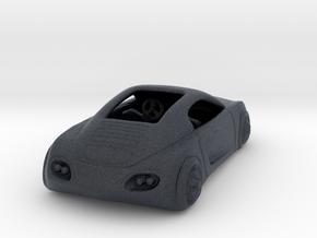 Audi Concept Car  1:120 TT in Black Professional Plastic