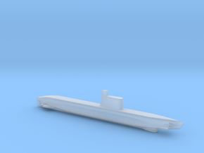 1/700 Scale USSR Quebec Submarine in Smooth Fine Detail Plastic