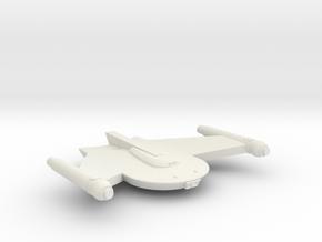 3788 Scale Romulan Snipe-B Battle Frigate MGL in White Natural Versatile Plastic