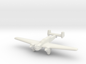 KI-1 Medium Bomber in White Natural Versatile Plastic