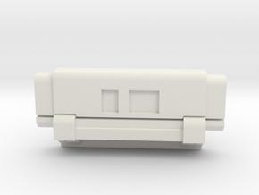 Finn Jacket Com Box in White Premium Versatile Plastic