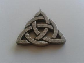 Triquetra / Trinity Knot in Stainless Steel