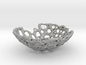 Bone Bowl 15cm in Aluminum