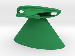 Romulan Star Empire - Shrike in Green Processed Versatile Plastic