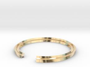Star 15.70mm in 14k Gold Plated Brass