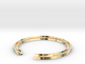 Star 16.00mm in 14k Gold Plated Brass
