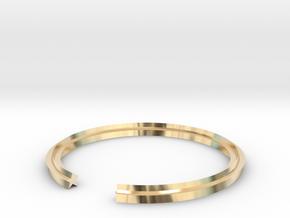 Star 17.75mm in 14k Gold Plated Brass