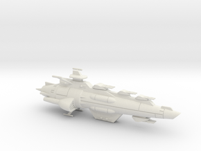 Maeve-class Battlecruiser in White Natural Versatile Plastic