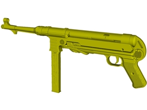 1/22.5 scale MaschinenPistole MP-40 rifle x 1 in Smooth Fine Detail Plastic