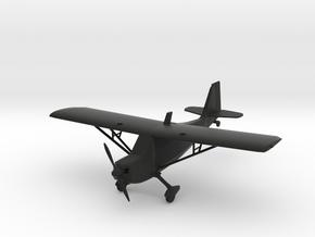 American Champion Super Decathlon in Black Natural Versatile Plastic: 1:65