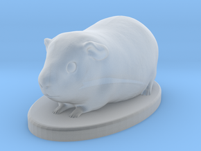 Small Guinea Pig Honey in Smooth Fine Detail Plastic