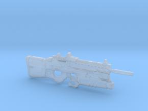 cyberpunk - near future F2076T GL in 1/6 scale in Smooth Fine Detail Plastic