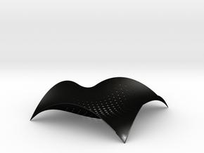 Cuttledish in Matte Black Steel