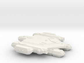 3788 Scale Orion War Destroyer (DW) CVN in White Natural Versatile Plastic