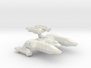 3125 Scale Lyran Top-Alleycat Heavy War Destroyer in White Natural Versatile Plastic