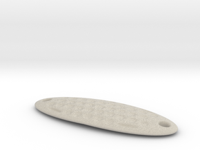 example customized fishing lure in Natural Sandstone