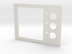 Pelican 1200 Battery Panel (reset) in White Natural Versatile Plastic