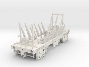 7mm Tullis Russell PAA wagon chassis in White Natural Versatile Plastic