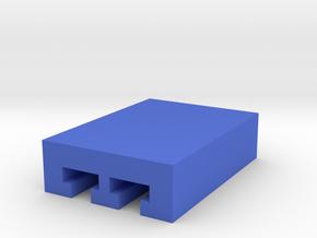 DIY Contour Mount Interface in Blue Processed Versatile Plastic