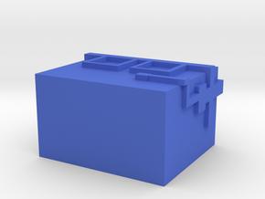 roobler box in Blue Processed Versatile Plastic