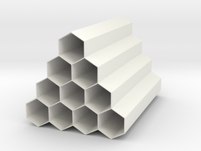 Hive Penholder in White Natural Versatile Plastic