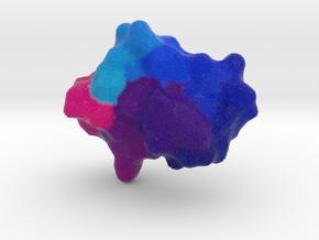 Crambin in Natural Full Color Sandstone