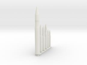 custom shell Z9125cm in White Natural Versatile Plastic