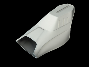 Iron Man Mark VII Forearm Armor in White Natural Versatile Plastic