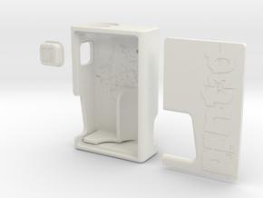 V1.7 Mech Squonk Mod (Complete Set) in White Natural Versatile Plastic