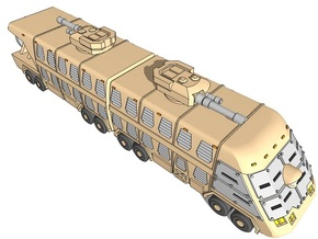 6mm Cyclops Big Bus (Armored) (1pcs) in White Natural Versatile Plastic