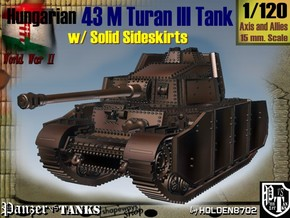 1-120 Hungarian 43M Turan III Solid Sideskirts in White Strong & Flexible