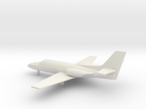Cessna 500 Citation I in White Natural Versatile Plastic: 1:200