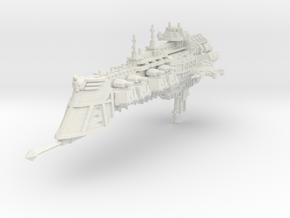 Crucero clase Gotico in White Natural Versatile Plastic