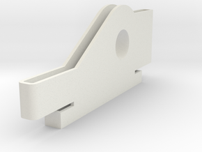 Base_Support in White Natural Versatile Plastic