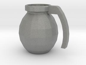 Mug of respect (Grenade F1) in Gray Professional Plastic